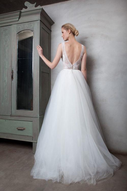 Alison Top & Sapphire Skirt | Back