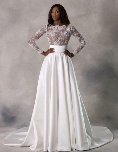 Siobhan Top & Millicent Skirt   Front